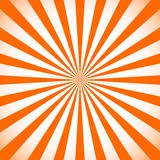 Starburst, sunburst background. Circular monochrome pattern with - 116498710