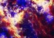 Beautiful space nebula