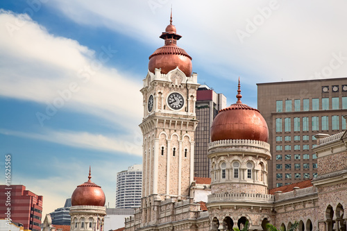 Poster Sultan Abdul Samad Building