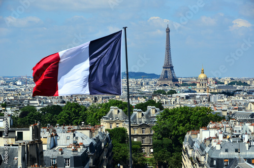 panorama parisien Poster