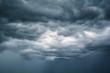 Black clouds.  Rain Clouds
