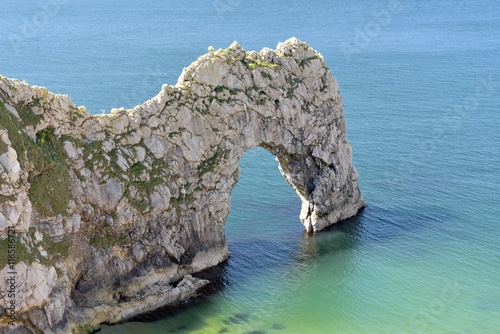 Poster Durdle Door natural arch on Dorset coast