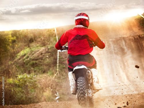 obraz lub plakat motocross mx sport