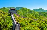View of the Great Wall at Badaling - China