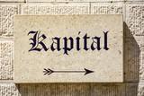 Schild 87b - Kapital