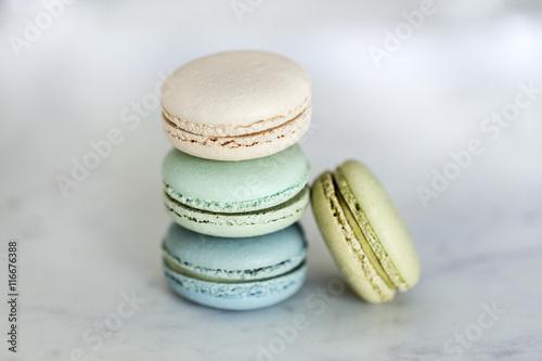 Foto op Aluminium Macarons Assorted macarons