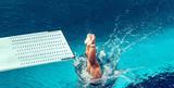 Springboard diving - 116716141