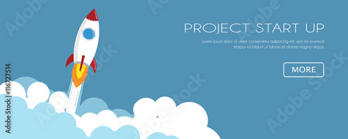 Fototapeta Project Start Up