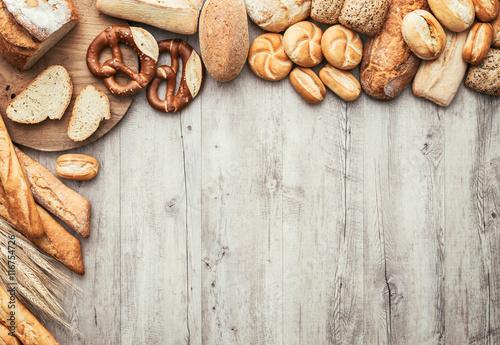 Fototapeta Freshly baked bread