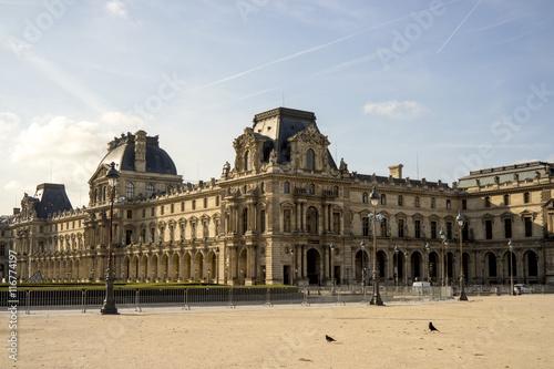 Louvre Museum. Paris Poster