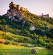 most beautiful castles of Europe - Roccascalegna in Italy, Abruzzo