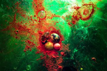 bille paintball peinture photo macro