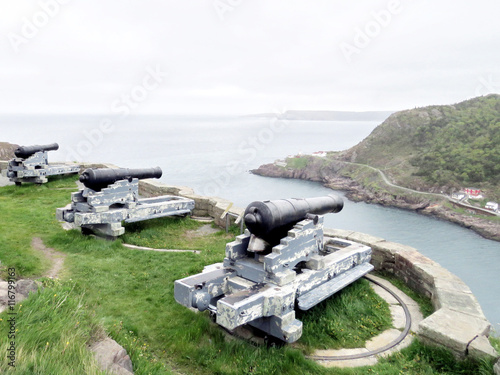 Newfoundland the cannons on Signal Hill 2016 Photo by emkaplin