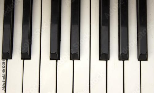 Obraz piano keyboard