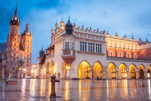 Zdjęcia na płótnie, fototapety na wymiar, obrazy na ścianę : Krakow, Poland