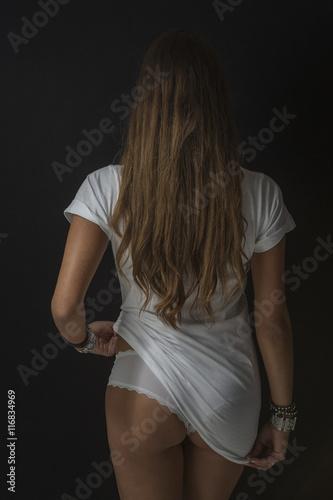 Poster T-Shirt Lady - erotisch und sexy
