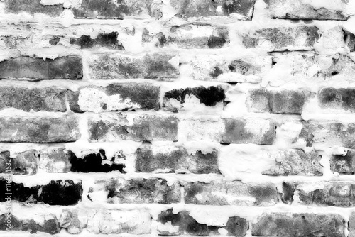 Juliste Brick texture with scratches and cracks