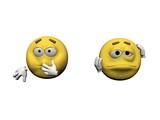 emoticon very sick - 3d render