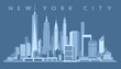 New York City Skyline,