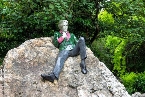 Irland - Dublin - Merrion Square Park - Oscar Wilde Poster