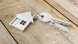 Hauskauf mit Haus und Schlüssel