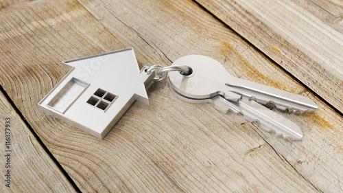 Hauskauf mit Haus und Schlüssel - 116877933