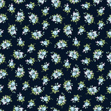 Seamless floral pattern with blue rose - 116892939
