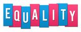 Equality Pink Blue Stripes