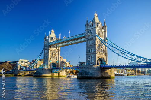 Tower Bridge in London, UK Poster