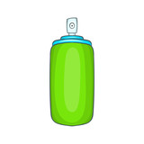 Air freshener icon in cartoon style on a white background