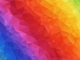 geometric spectrum rainbow texture background - 116935744