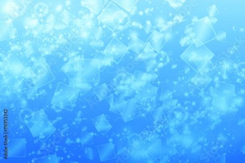 グラフィックイメージ スクエア ブルー