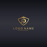 Horse logotype. Horse head illustration