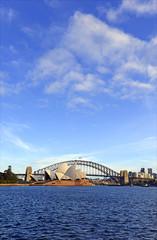 City skyline in Sydney Australia