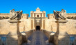 Mdina city gates. Old fortress. Malta