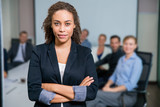 Fototapety Successful Female Executive Manager