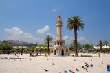 Измир. Турция. Часовая башня.