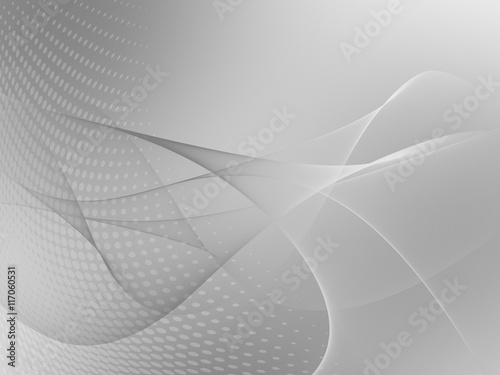 Soft Silver Clean abstract background