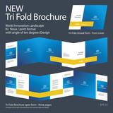 New Tri Fold Brochure 04 Innovation design layout 2017