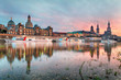 Dresden at sunset, Germany