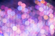 Purple and pink color bokeh light,Blurred abstract background