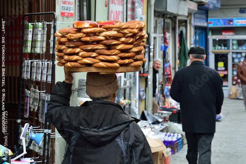Brezelverkäufer in Istanbul