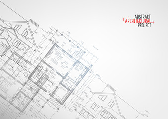 Part of abstract architectural project.