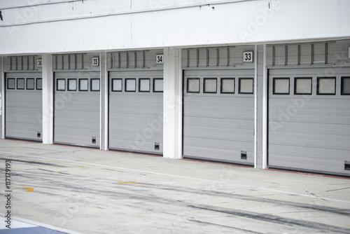 Keuken foto achterwand F1 Auto-motor speedway garage