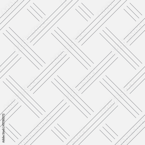 Geometric background, squares. Line design. Seamless pattern. Vector illustration EPS 10 - 117180372
