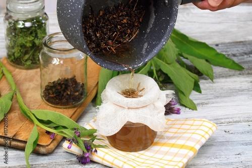 Alternative medicine, filtering comfrey ointment good for bones