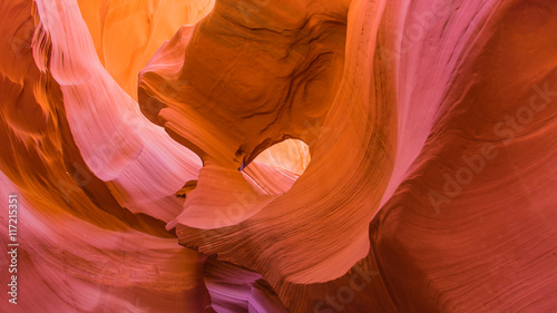 Foto op Canvas Baksteen Scenic and Magic Antelope Canyon, Arizona, United States of America