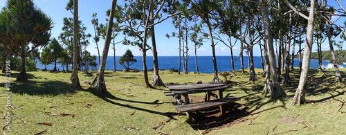 Papiers peints Photos panoramiques Littoral du sud sauvage, Réunion.