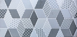 abstract mosaic tile for wall and floor - 117268777