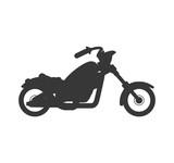 Fototapety motorcycle motor motorbike transportation icon. Isolated and flat illustration. Vector graphic